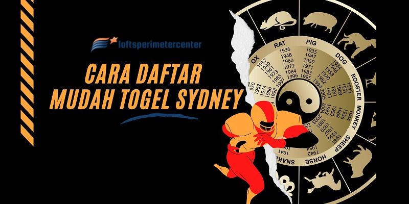 Banner Cara Daftar Mudah Togel Sydney